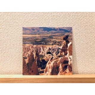 イデー(IDEE)のカッパドキア 風景 ポストカード / トルコ 世界遺産 海外 雑貨 絵はがき(使用済み切手/官製はがき)