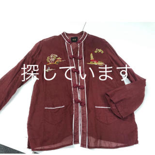 UNITED ARROWS - roku 6 ×dahl'iaコラボ 即完売チャイナシャツ