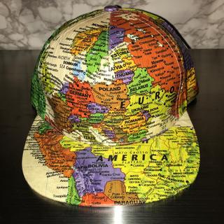 Supreme - Supreme WORLD MAP SNAP BACK