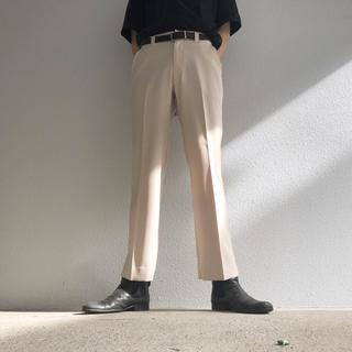 TOGA - スラックス フレアパンツ メンズ クリーム ホワイト