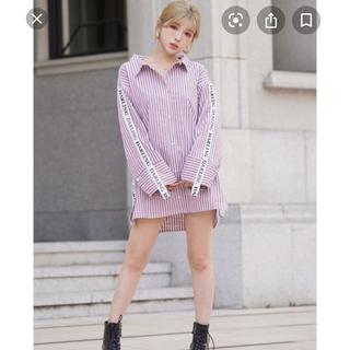 eimy istoire - Darich♡Darling ロゴ ビックシャツ