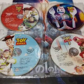 Disney - トイストーリー DVDディスク 4作品セット