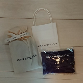 ディーンアンドデルーカ(DEAN & DELUCA)のDEAN&DELUCA 京都限定 ディーン&デルーカ エコバッグ 紫 パープル(エコバッグ)