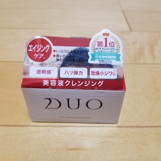 DUOエイジングケア美容液クレンジングバーム90g(クレンジング/メイク落とし)