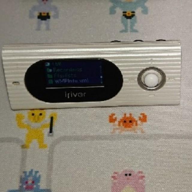 iriver(アイリバー)のiriver T60 ホワイト 4G スマホ/家電/カメラのオーディオ機器(ポータブルプレーヤー)の商品写真