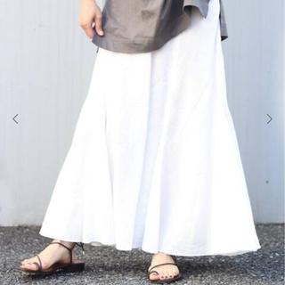 Plage - Plage Linen Mermaid スカート ホワイト 36