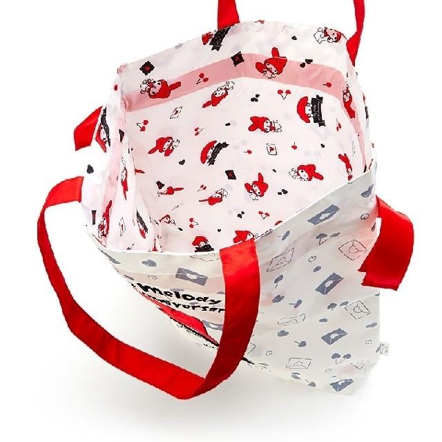 マイメロディ(マイメロディ)のマイメロディ 45th巾着トートバッグ エンタメ/ホビーのおもちゃ/ぬいぐるみ(キャラクターグッズ)の商品写真