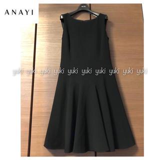 ANAYI - ANAYI ワンピース 黒