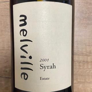 メルヴィル サンタリタヒルズ シラー 2001年(ワイン)