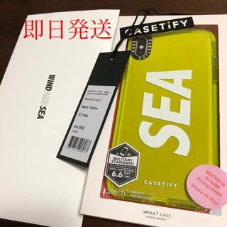 シュプリーム(Supreme)のWIND AND SEA CASETIFY iPhoneXS MAX(iPhoneケース)