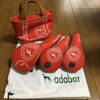 アダバット(adabat)の【新品未使用/難有】adabat/アダバット クラブカバー&ミニバッグセット(その他)