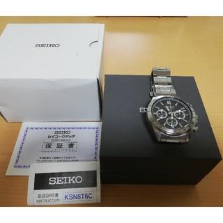 SEIKO - SEIKO セイコー スピリット クロノグラフ BK SBTR013