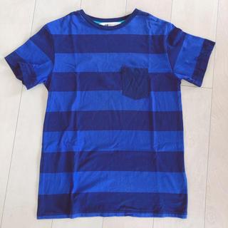 エイチアンドエム(H&M)のH&M ボーダーTシャツ 160(Tシャツ/カットソー)