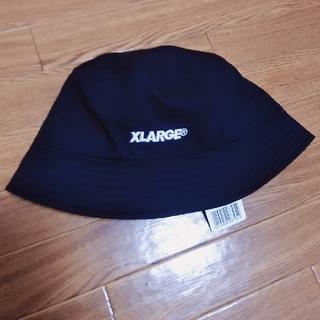 XLARGE - 未使用*XLARGE*バケットハット*黒*エクストララージ