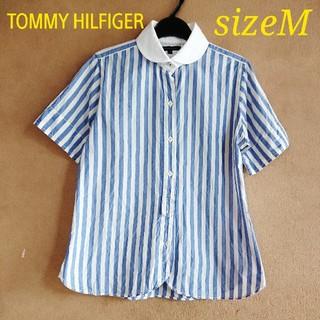 TOMMY HILFIGER - TOMMY HILFIGER   コットン レディースシャツ   Mサイズ