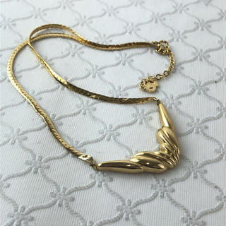 クリスチャンディオール(Christian Dior)の❤セール❤ ディオール ネックレス アクセサリー ゴールド ロゴ レディース 金(ネックレス)
