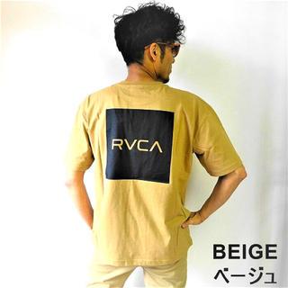 ルーカ(RVCA)の残り1点 メンズ レディース ルーカ ビッグシルエット 半袖Tシャツ ベージュ(Tシャツ/カットソー(半袖/袖なし))