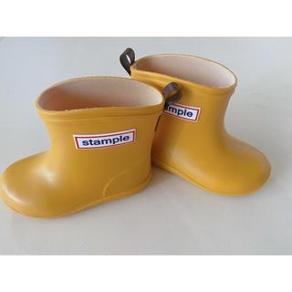 ミキハウス(mikihouse)の長靴 レインブーツ キッズ スタンプル Stample 13(長靴/レインシューズ)