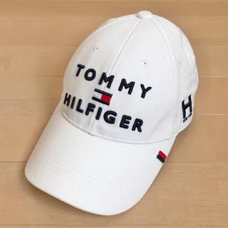 TOMMY HILFIGER - TOMMY HILFIGER 美品 ロゴ キャップ