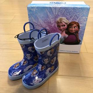 ディズニー(Disney)のアナ雪 レインブーツ(長靴/レインシューズ)
