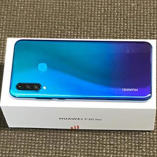 アンドロイド(ANDROID)のHUAWEI P30 Lite ピーコックブルー SIMフリー  64GB(携帯電話本体)
