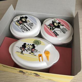 ディズニー(Disney)の【ディズニー】電子レンジ対応容器(容器)