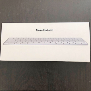 マック(Mac (Apple))のmagic keyboard アップルマジックキーボード US配列(PC周辺機器)