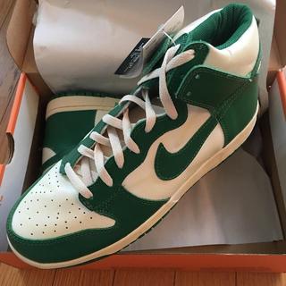 NIKE - Nike Dunk Vintage ダンク セルティックス 白緑OG SB 希少
