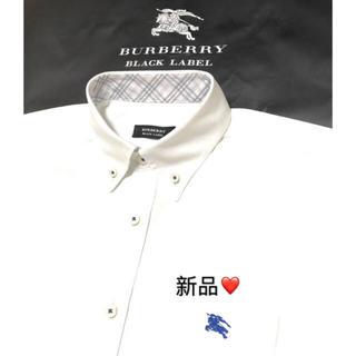 BURBERRY - ☆ 新品 バーバリーブラックレーベル 長袖シャツ2