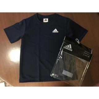 アディダス(adidas)の新品   adidas アディダス Tシャツ 半袖 140㎝ (Tシャツ/カットソー)