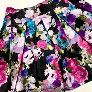 ディズニー(Disney)のディズニー 花柄スカート アメリカで購入 7-8歳(スカート)