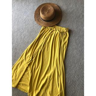 Spick and Span - マスタードカラー♥ドレープスカート