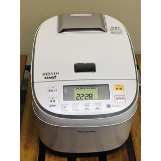 パナソニック(Panasonic)のPanasonic 炊飯器 10号炊き 可変圧力IHジャー SR-PB185(炊飯器)