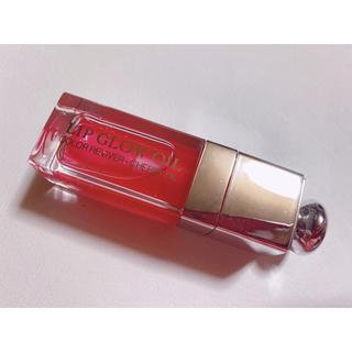 ディオール(Dior)のディオール アディクトリップグロウオイル 015 チェリー(リップグロス)
