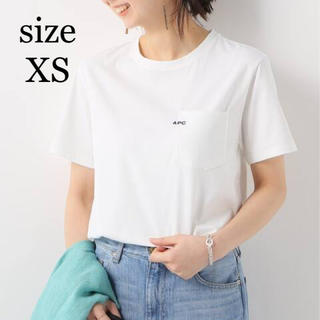 新品◇A.P.C. アーペーセー POCKET emb-Tシャツ