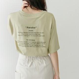 ケービーエフ(KBF)のKBF+バックレターロゴTシャツ(Tシャツ(半袖/袖なし))