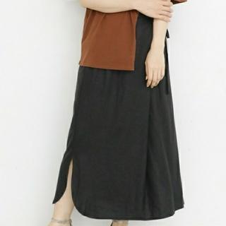 ケービーエフ(KBF)のシャツテールラップスカート(ロングスカート)