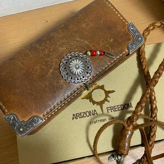アリゾナフリーダム(ARIZONA FREEDOM)のアリゾナフリーダム  ロングウォレット シルバーコンチョ(長財布)