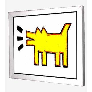 70-Keith Haring キースへリング キャンバスアート 模写(ボードキャンバス)