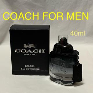 COACH - COACH FOR MEN EDT コーチ マン オードトワレ 40ml 香水