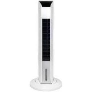 ヤマゼン(山善)のYAMAZEN スリム冷風扇 FCR-F451ホワイト[リモコン付き](扇風機)