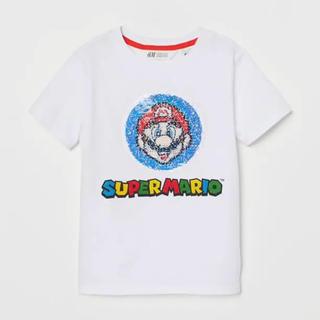 エイチアンドエム(H&M)の新品★マリオ110(Tシャツ/カットソー)
