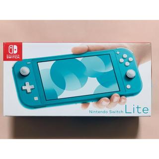 ニンテンドースイッチ(Nintendo Switch)のNintendo Switch スイッチライト 新品 ターコイズ 任天堂(家庭用ゲーム機本体)