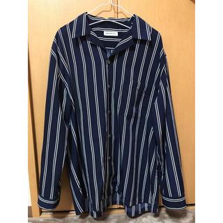 BROWNY - BROWNY オープンカラーシャツ ドロップショルダー