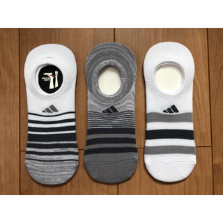 アディダス(adidas)のadidas アディダス レディースソックス 3足セット(ソックス)