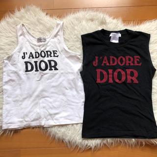 クリスチャンディオール(Christian Dior)のクリスチャンディオール  タンクトップ トップス(タンクトップ)