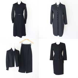 ブラックフォーマルスーツ ワンピース 8点 まとめ売り フォーマル 喪服 礼服(礼服/喪服)