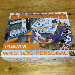 【美品】家庭用放送機器 MiNiSTUDIO PERSONAL US-32(オーディオインターフェイス)
