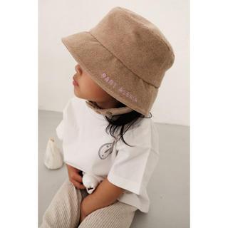 アリシアスタン(ALEXIA STAM)のBABY ALEXIA Terry Cloth Bucket Hat Beige(その他)