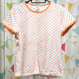 クレージュ(Courreges)のcourreges ボーダー Tシャツ スポーツ ウェア(Tシャツ(半袖/袖なし))